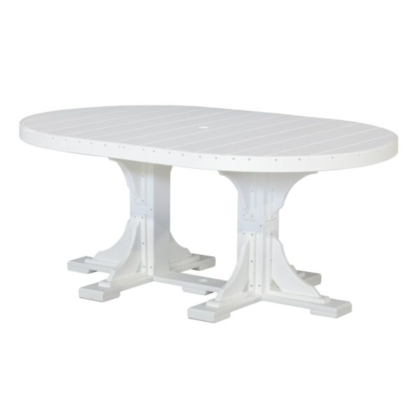Oval Table - White