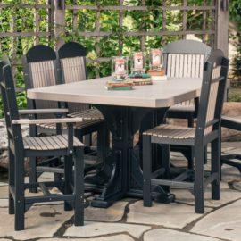 Rectangular Table 5-Piece Patio Dining Set