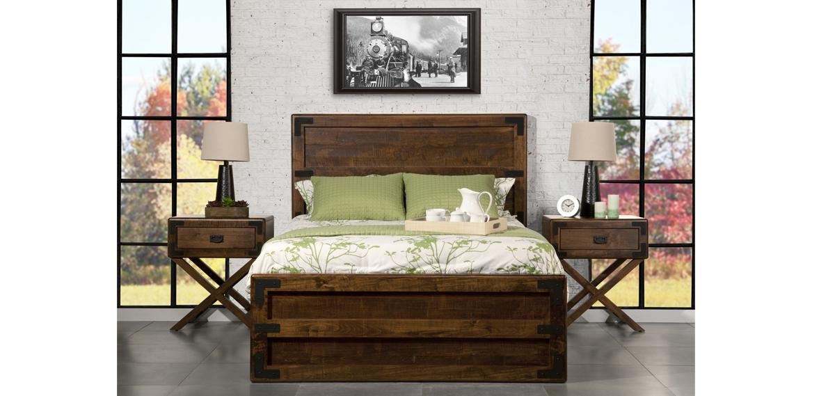 Saratoga X-Base Bedroom Set (Queen)