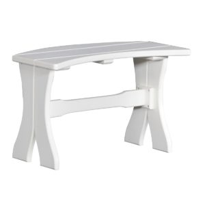 Small Dining Bench - White