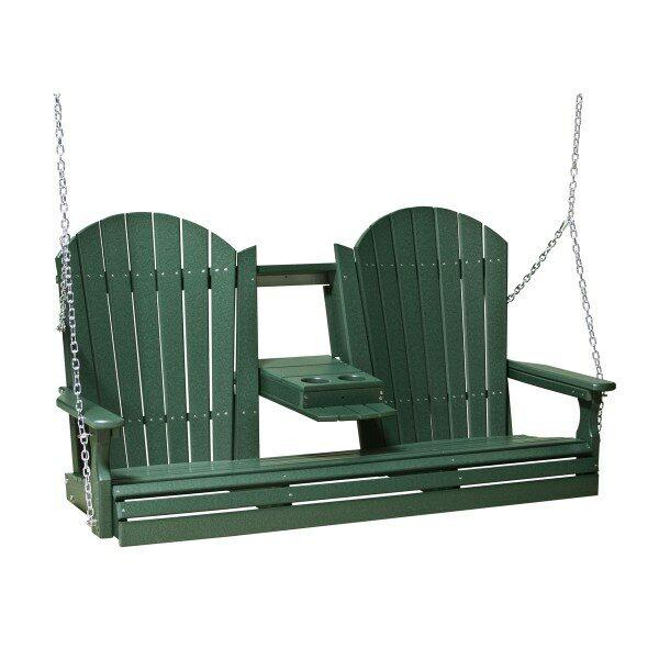 Triple Adirondack Swing - Green