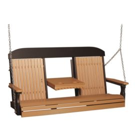 Triple Classic Swing - Cedar & Black
