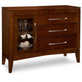 Catalina 3-Drawer 1-Glass Door Sideboard