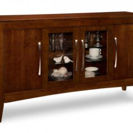 Catalina 4-Door Sideboard with 2-Centre Glass Doors
