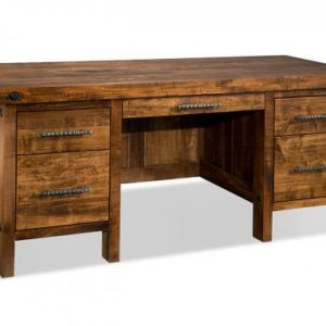 """Rafters 28"""" x 66"""" Executive Desk"""