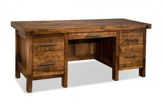 Rafters 28 X 66 Executive Desk