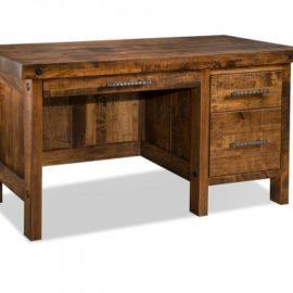 Rafters Single Pedestal Desk