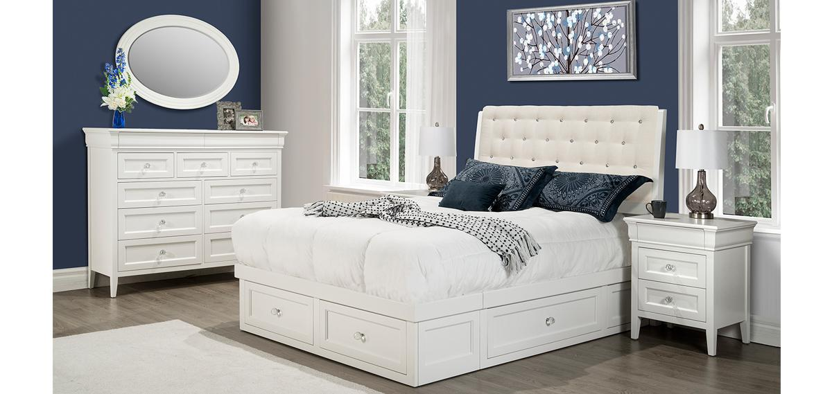 Monticello Condo Bedroom Set Solid Wood Bedroom Sets