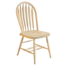 Bent Arrow Hoop Dining Chair