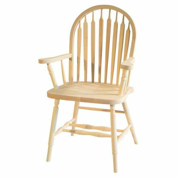 Big Seat Arrow Hoop Arm Chair