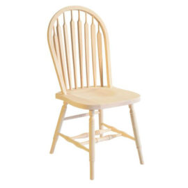 Big Seat Arrow Hoop Dining Chair