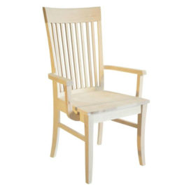 Demi-Lune Arm Chair