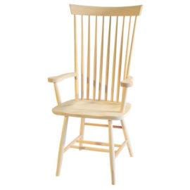 High Back Shaker Arm Chair