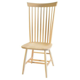High Back Shaker Dining Chair