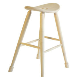 Oval Seat Saddle Stool