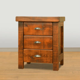 Threshing 3-Drawer Nightstand