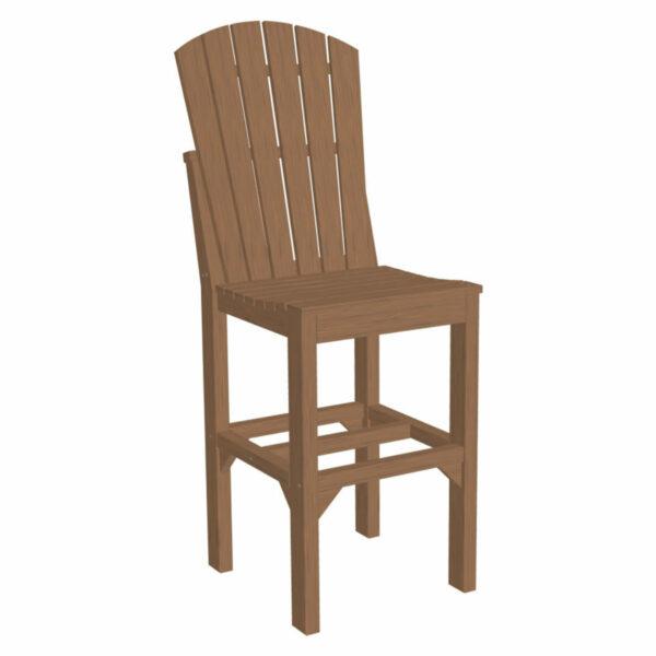 Adirondack Bar Chair - Antique Mahogany