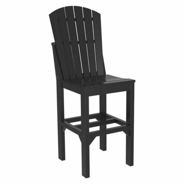 Adirondack Bar Chair - Black