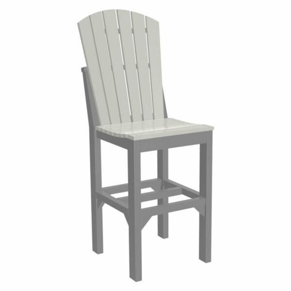 Adirondack Bar Chair - Dove Grey & Slate