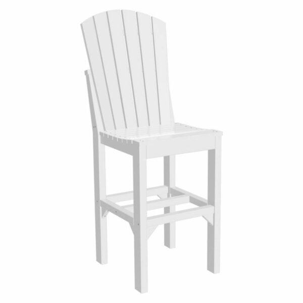 Adirondack Bar Chair - White