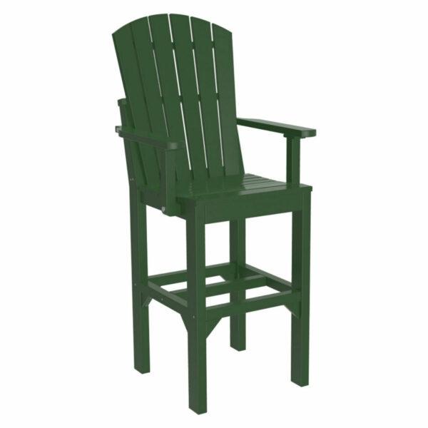 Adirondack Captain Bar Chair - Green