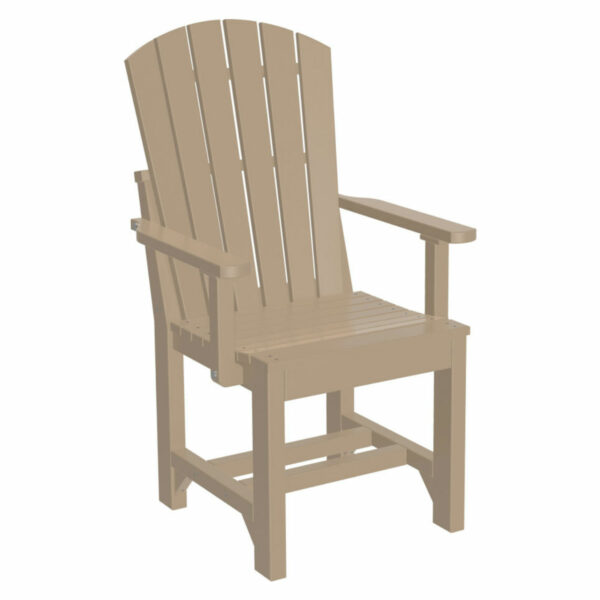 Adirondack Captain Dining Chair - Weatherwood
