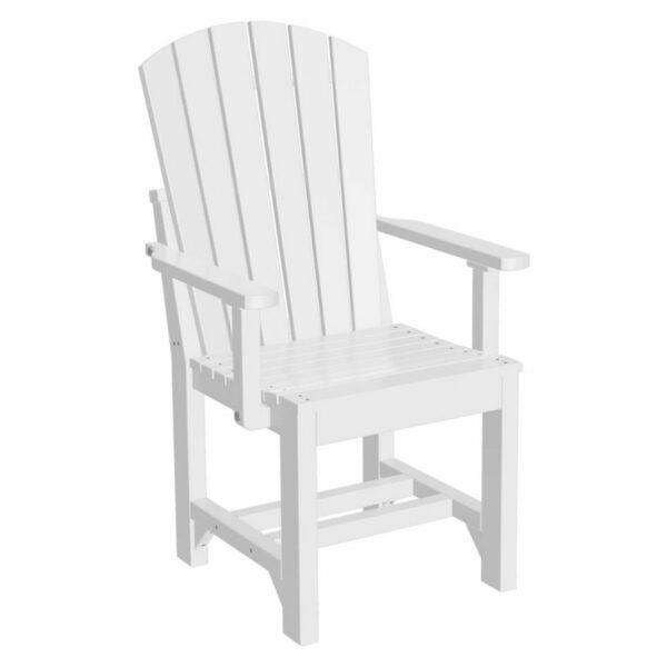 Adirondack Captain Dining Chair - White