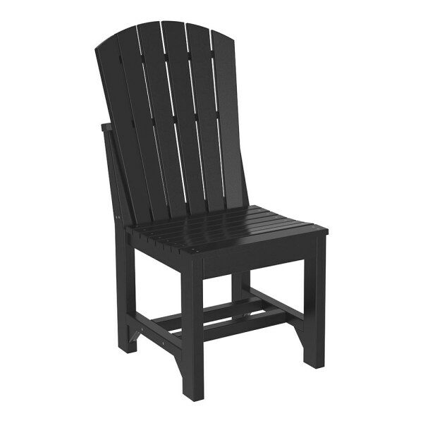 Adirondack Dining Chair - Black