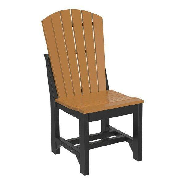 Adirondack Dining Chair - Cedar & Black