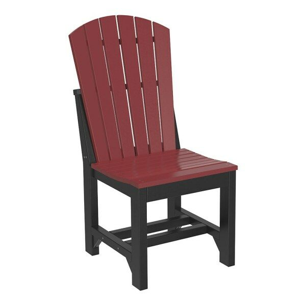 Adirondack Dining Chair - Cherry & Black