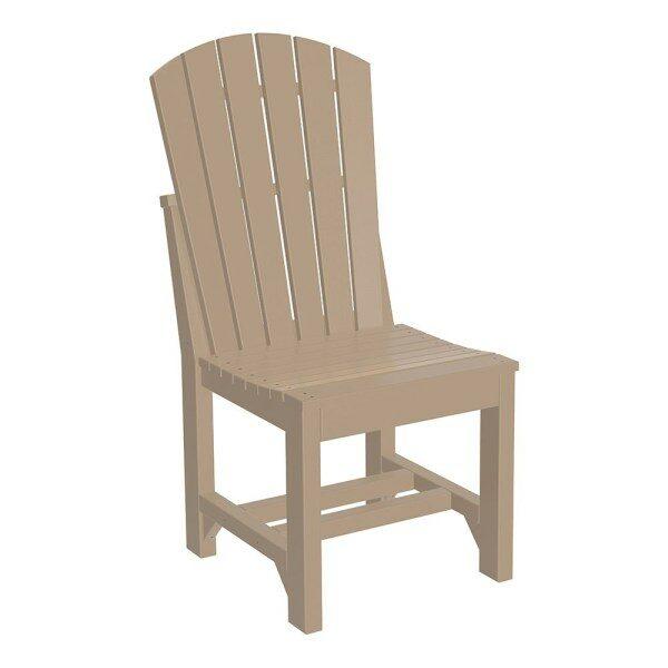 Adirondack Dining Chair - Weatherwood