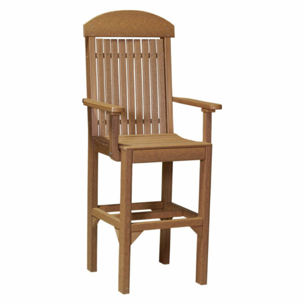 Classic Captain Bar Chair - Antique Mahogany