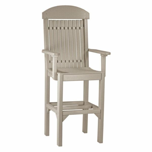 Classic Captain Bar Chair - Weatherwood