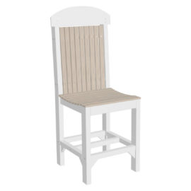 Classic Counter Chair - Birch & White