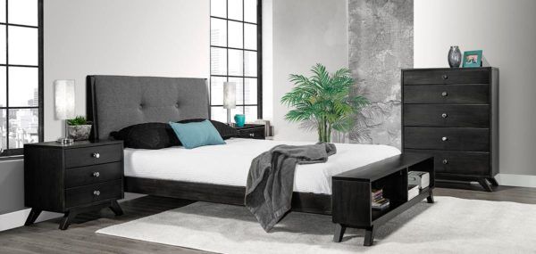 Tribeca Bedroom Set with Bench Footboard