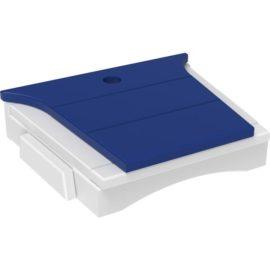 Balcony Tete-a-Tete Table - Blue & White