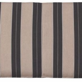 Large Cafe Bench Cushion - Berenson Tuxedo