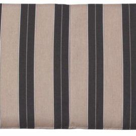 Large Cafe Bench Cushion - Berenson Tuxedo