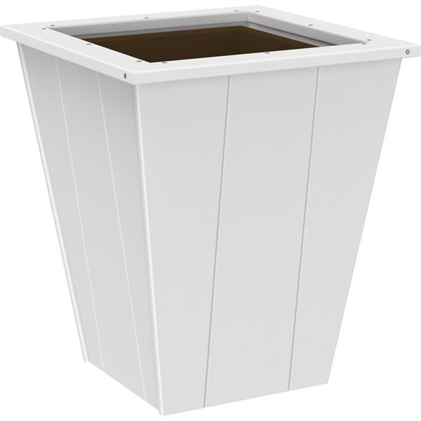 Medium Elite Planter - White