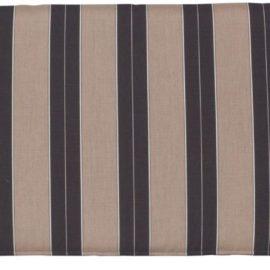 Small Cafe Bench Cushion - Berenson Tuxedo