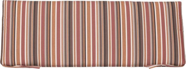 Small Cafe Bench Cushion - Brannon Redwood
