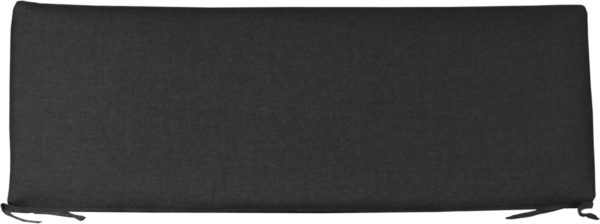 Small Cafe Bench Cushion - Spectrum Carbon