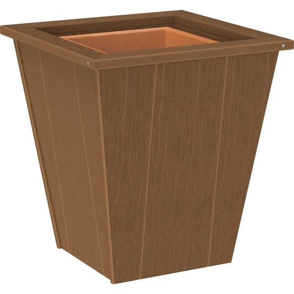 Small Elite Planter - Antique Mahogany