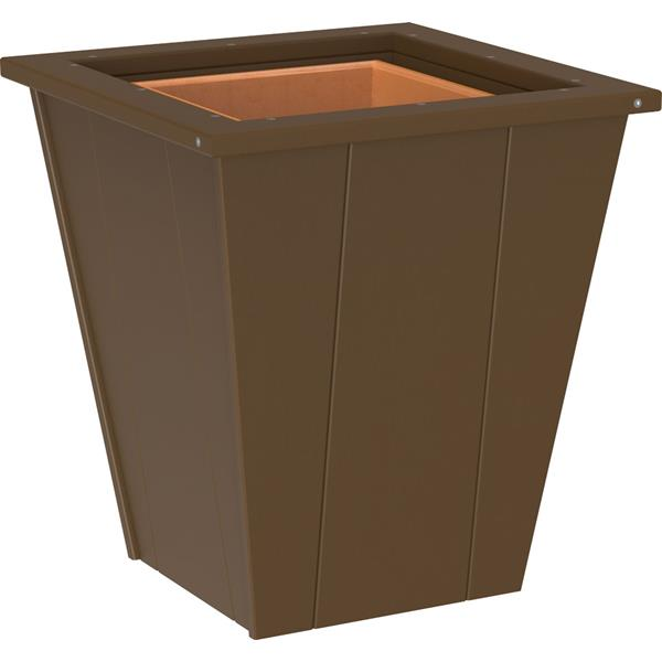 Small Elite Planter - Chestnut Brown