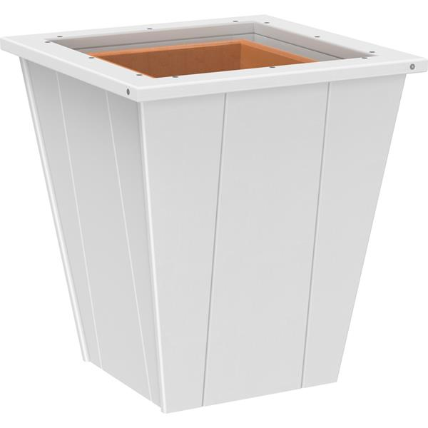 Small Elite Planter - White