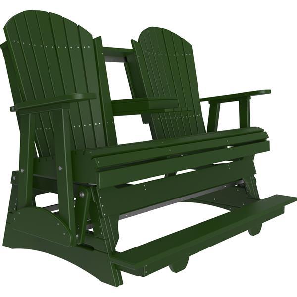Triple Adirondack Balcony Glider - Green