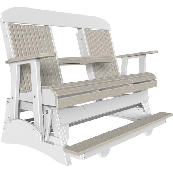 Triple Classic Balcony Glider - Birch & White