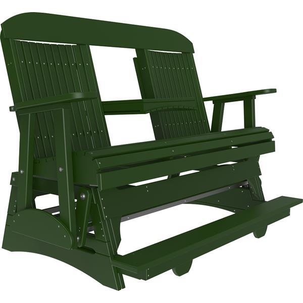 Triple Classic Balcony Glider - Green