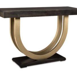 Contempo Metal Curve 54in Sofa Table