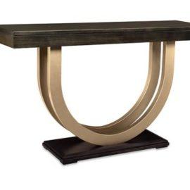 Contempo Metal Curve 60in Sofa Table